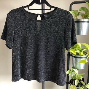 Tops - *Host Pick* Simons Icone Tee Black and Silver